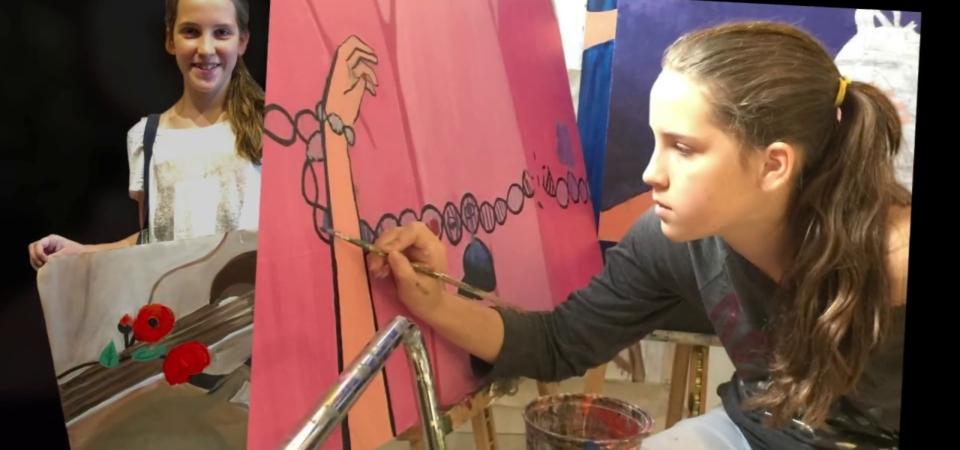 Teen Art Video