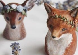sculpting with clay wildlife